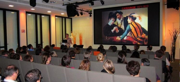 Conférence en entreprise, photo Culture et Compagnie