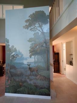panneau décoratif, 3,33 x 1,80m