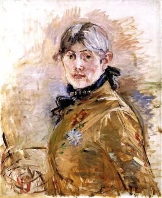 1885 Berthe-Morisot_Autoportrait-